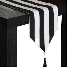 black white striped table runner european style black and white striped table runner table cloth