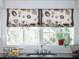 curtains for kitchen window above sink