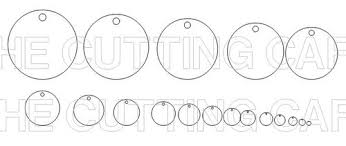 1 Inch Circle Template by The Cutting Cafe Layered Circle Set Template And Cutting File