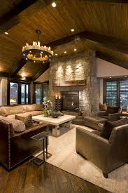 rustic home interior design stunning rustic living room design ideas