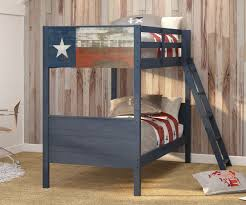 Lonestar Twin Over Twin Size Bunk Bed TTB Donco Trading - Donco bunk beds