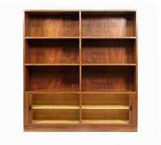 Modern Danish Furniture by Modern Danish Mahogany Shelving Unit Or Bookcase With Tambour