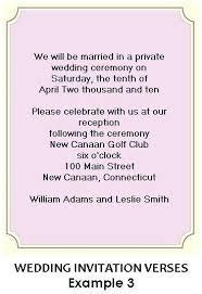 wording for wedding ceremony wedding ceremony only invitation wording paperinvite