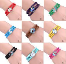 girls bracelet images Hot new bracelet cartoon jewelry olaf bracelets baby girls jpg