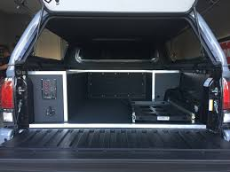 toyota tacoma truck bed 2017 toyota tacoma trd pro custom truck bed storage solution