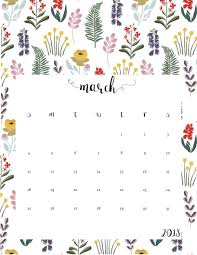 free march 2018 calendar for desktop and iphone floral march 2018 calendar max calendars