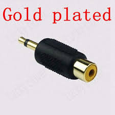 aliexpress buy hot gold plated 5mm 3 5mm tungsten gold nickel plated rca to 3 5mm 1 8 mono