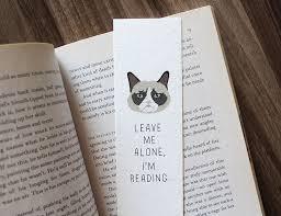 grumpy cat wrapping paper bookmark grumpy cat bookmark leave me alone i m