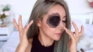 beginners halloween makeup tutorial the bloody eye wengie