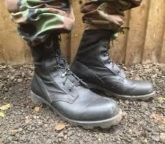 s army boots uk uk army surplus black wellco jungle combat boots leather