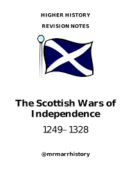 as politics revision guide scottish wars of independence revision notes