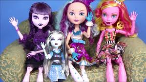 monster dolls collection 2015 video 17 dolls