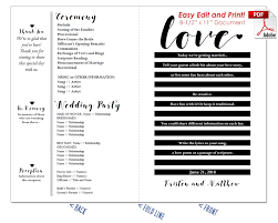 traditional wedding program template wedding fan templates 19 colors at crafty sticks