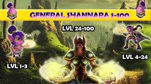 Shannara Map Monster Legends Review General Shannara 1 100 Youtube