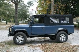 land rover defender convertible for sale frame up restored defender 110 convertible soft top
