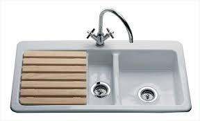 White Ceramic Kitchen Sink 1 5 Bowl White Ceramic Kitchen Sink 1 5 Bowl Braeburn Golf Course