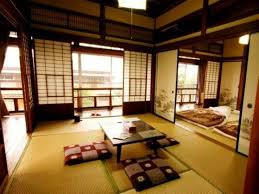 Home Design In Japan Traditional Japanese House Design With Stove Interior