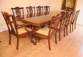 Chippendale Dining Room Set Antique Dining Sets Victorian Mahogany Walnut Regency