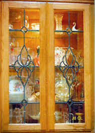 kitchen cabinet door glass inserts door glass inserts indiana cabinets for sale ebay