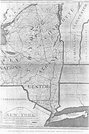 State Of Ny Map by Map Rev War Nys