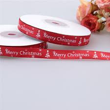 gift wrap ribbon gift 25 yards 1cm thread printed ribbon handmade merry