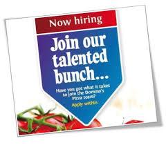 need a job domino u0027s pizza rayners lane