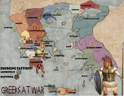 Sparta On Map Hellenika Main Thread