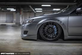 bagged subaru outback a legacy built for stance and performance cars pinterest