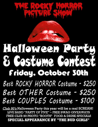 you u0027re invited u2026club 90 u0027s rocky horror picture show halloween party