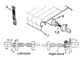 A E Awnings Caravansplus Spare Parts Diagrams Dometic A U0026e 8500 Torsion Springs