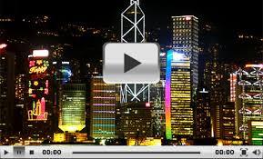 Harbor Light Center A Symphony Of Lights Victoria Harbour Light Show Hong Kong