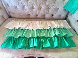 Crib Bed Skirt Diy Diy Ruffled Crib Skirt Tutorial Sewing Pinterest Crib