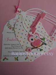 beautiful babyshower owl invitations by baby shower invitations