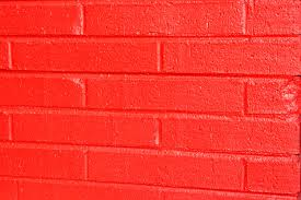 painted brick wallpaper red wall picture free photograph photos