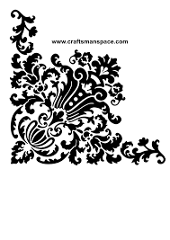 corner design ornament vector