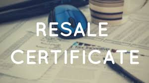 what is a resale certificate and how to get one 888 lots blog