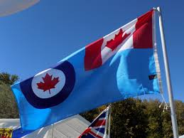 Flag With Red Circle Ad Astra Honoring My Canadian Air Force Family All In