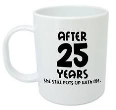 25 year anniversary gift gifts design ideas 25th wedding anniversary gifts for men him