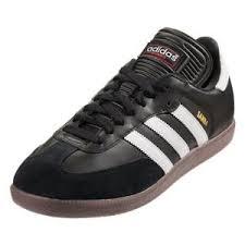 white samba adidas samba classic indoor soccer shoe black white