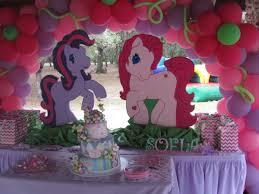 my pony decorations my pony birthday cake table decor pink purple birthday