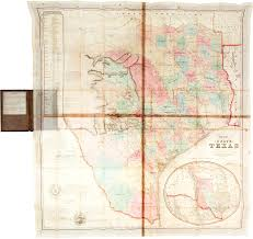 Wylie Tx Map Rare 1849 Map Of Texas Likely To Sell For Over 150 000 In Dallas