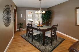 dining room charming dining room design with black pattern rug