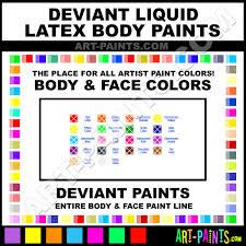 fluorescent orange liquid latex body face paints latex3
