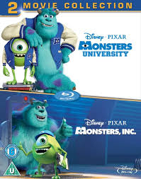 monsters monsters university blu ray zavvi