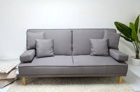 comprar futon futon sill祿n cama modelo luka vintage retro sofa 3 cuerpos