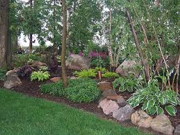 Landscaping Plans For Backyard by Best 25 Shade Landscaping Ideas On Pinterest Shade Garden