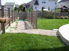 Landscaping Ideas For Backyard With Dogs Backyard Play Ideas For Dogs Google Search Dog Run Side Yard