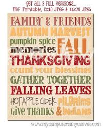 free printable thanksgiving subway festival collections