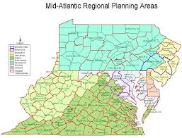 Virginia Regions Map by Community Motive