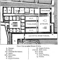 Roman Domus Floor Plan When In Rome U2026 Visiting The House Of Livia On The Palatine Hill